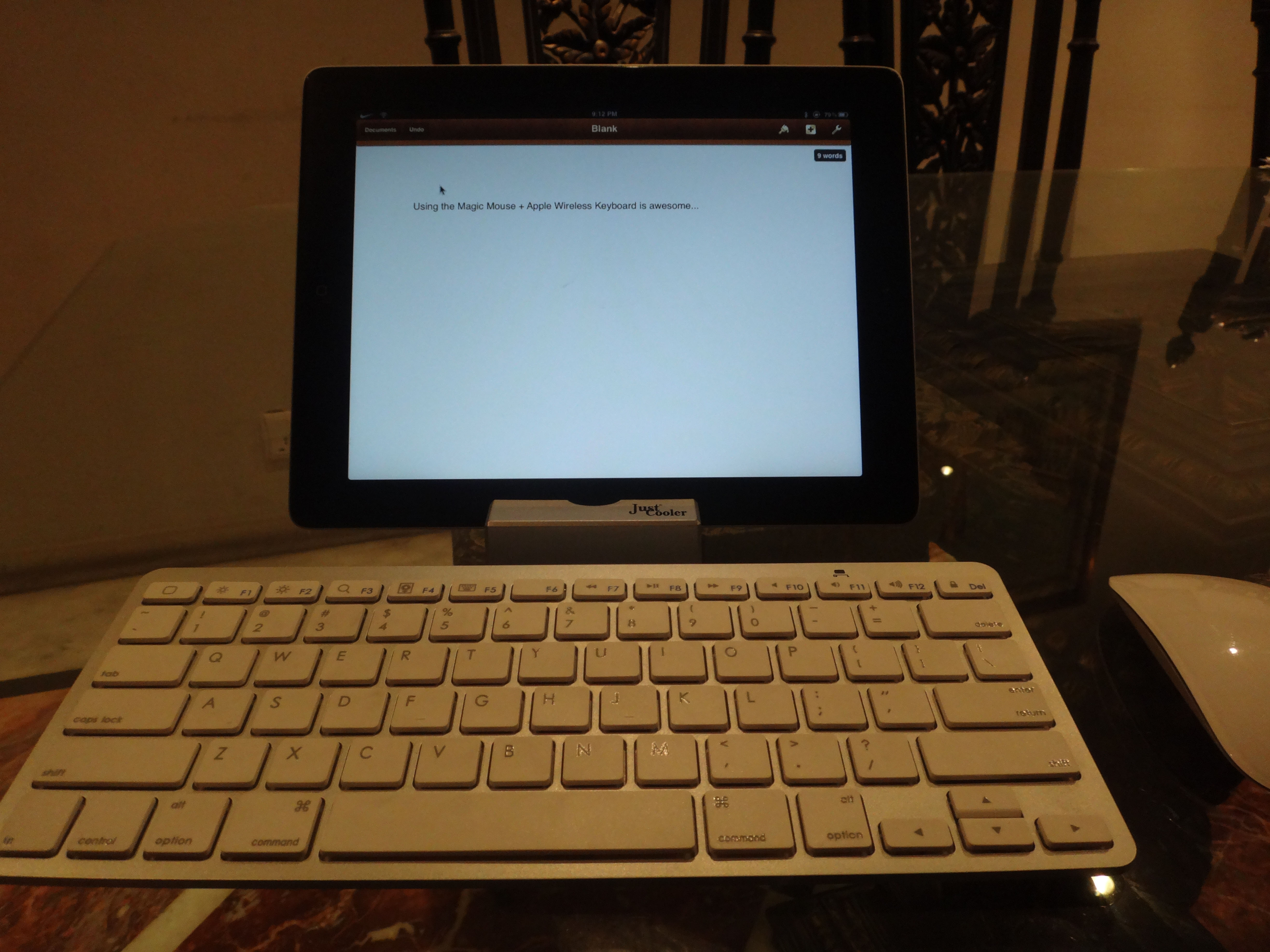 are bluetooth keyboard and mouse for ipad you're familiar