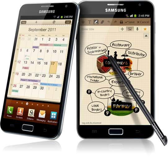 The Galaxy Note