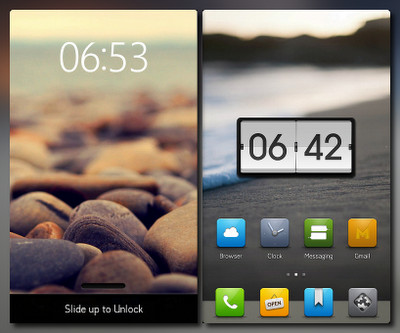 An Android Theme. Looks sweet!