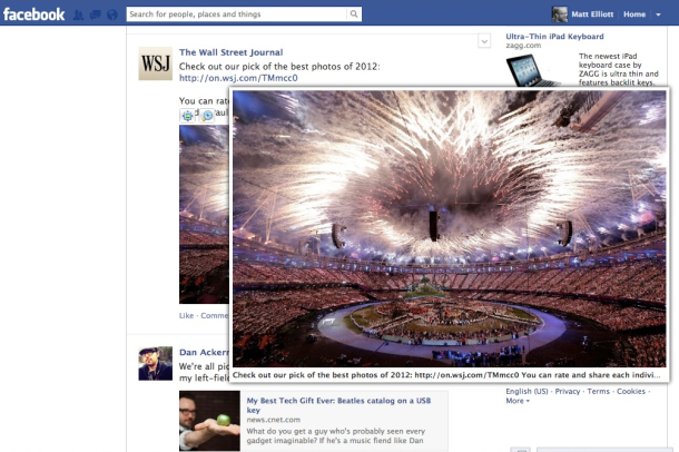 Photo Zoom for Facebook is a Chrome extension that lets you enlarge Facebook photos simply by mousing over them.