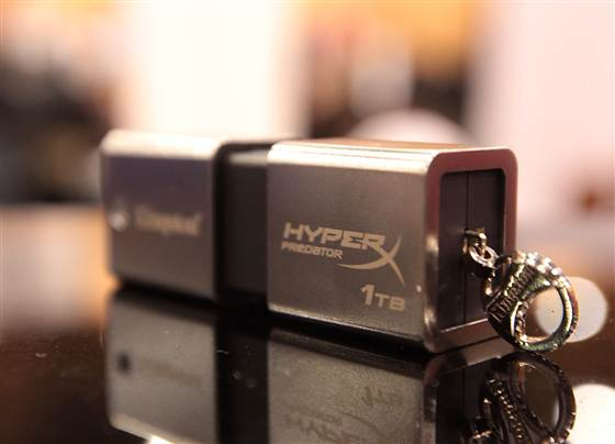 Kingston's DataTraveler HyperX Predator