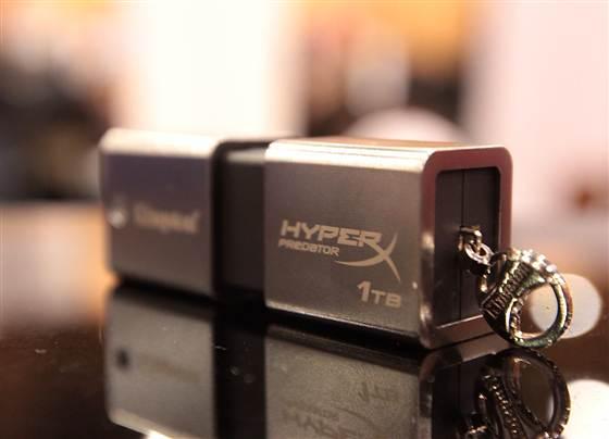 Kingston's DataTraveler HyperX Predator