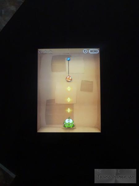 Cut the Rope on the iPad Mini