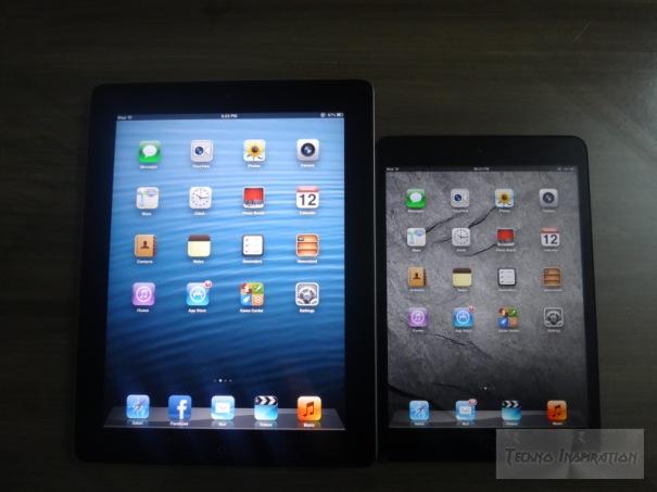 iPad 2 vs. iPad Mini