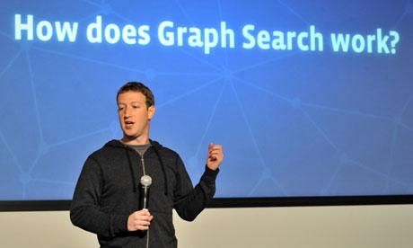 Facebook Chief Executive Announces Graph Search