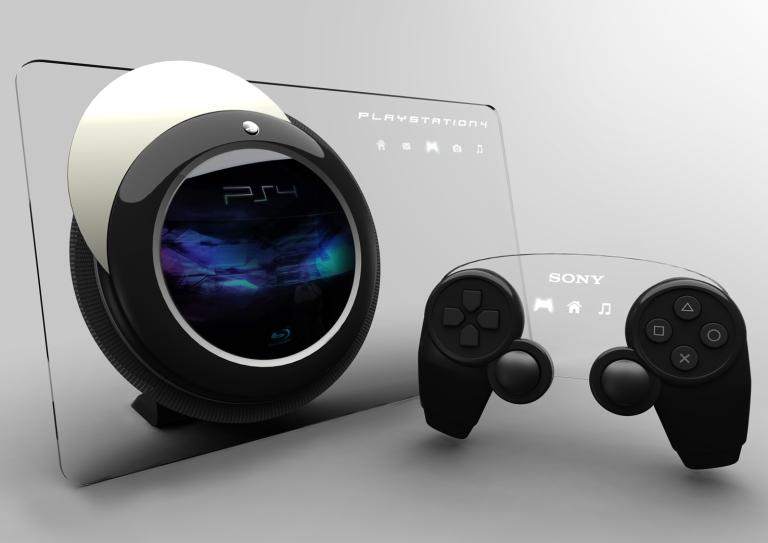A PS4 Concept Design.