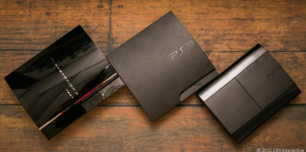 The Three Generations of the PS3 (Credit: CNET)